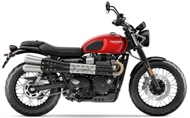 Triumph Street Scrambler 900 - rent a bike in Malaga