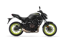 Yamaha MT-07 - alquilar una motocicleta Tarragona