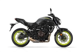 YAMAHA MT07 motorbike rental in Barcelona