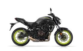 Yamaha MT-07 мотоциклет под наем в Барселона