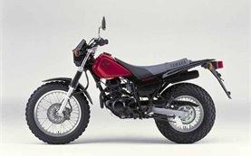 YAMAHA TW125 - мотоциклет под наем в Крит